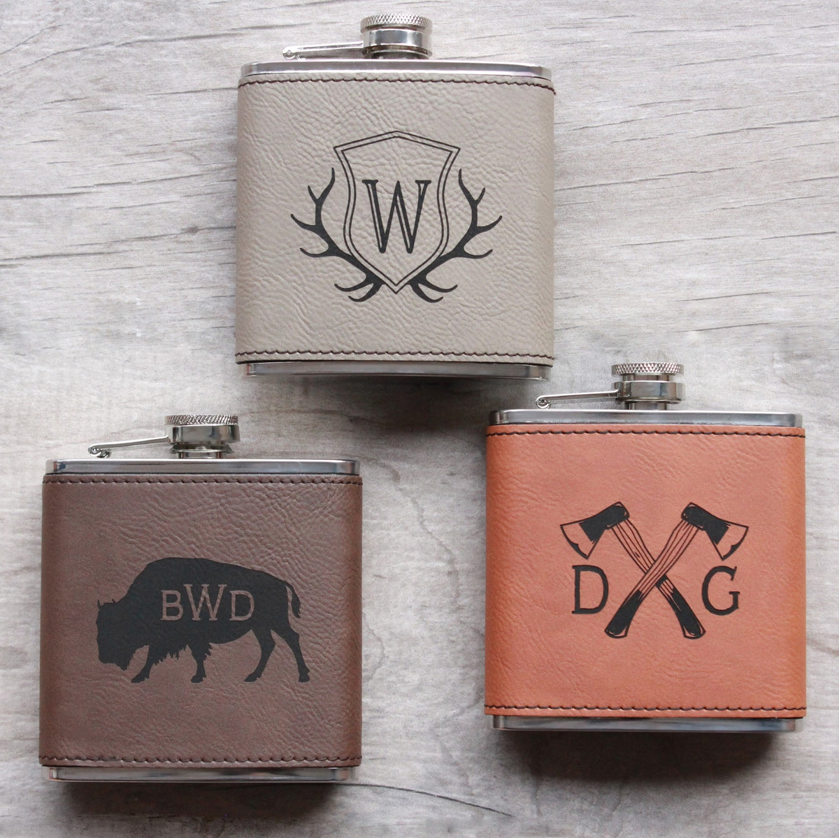 FLASKS & GROWLERS