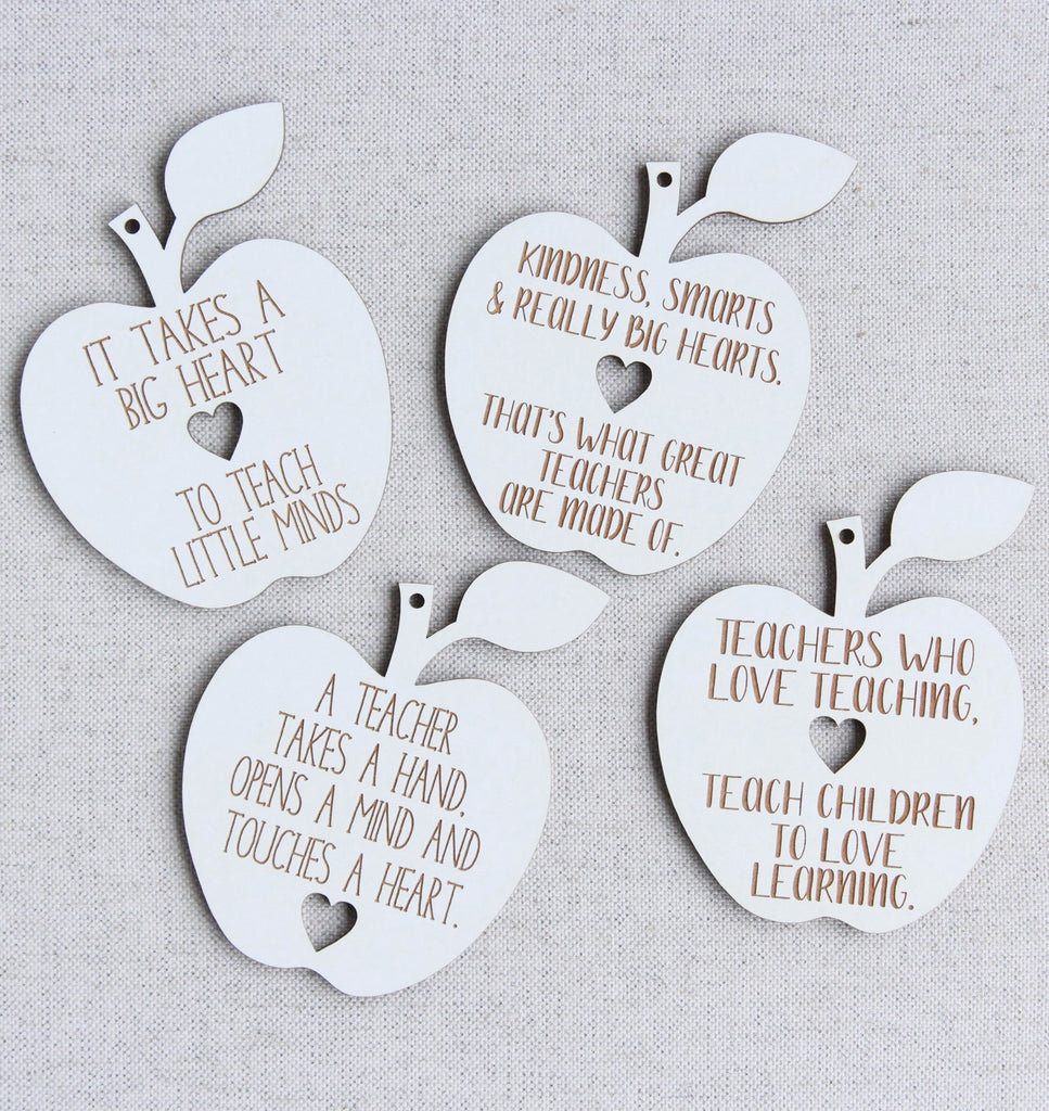 Apple Teacher Tags
