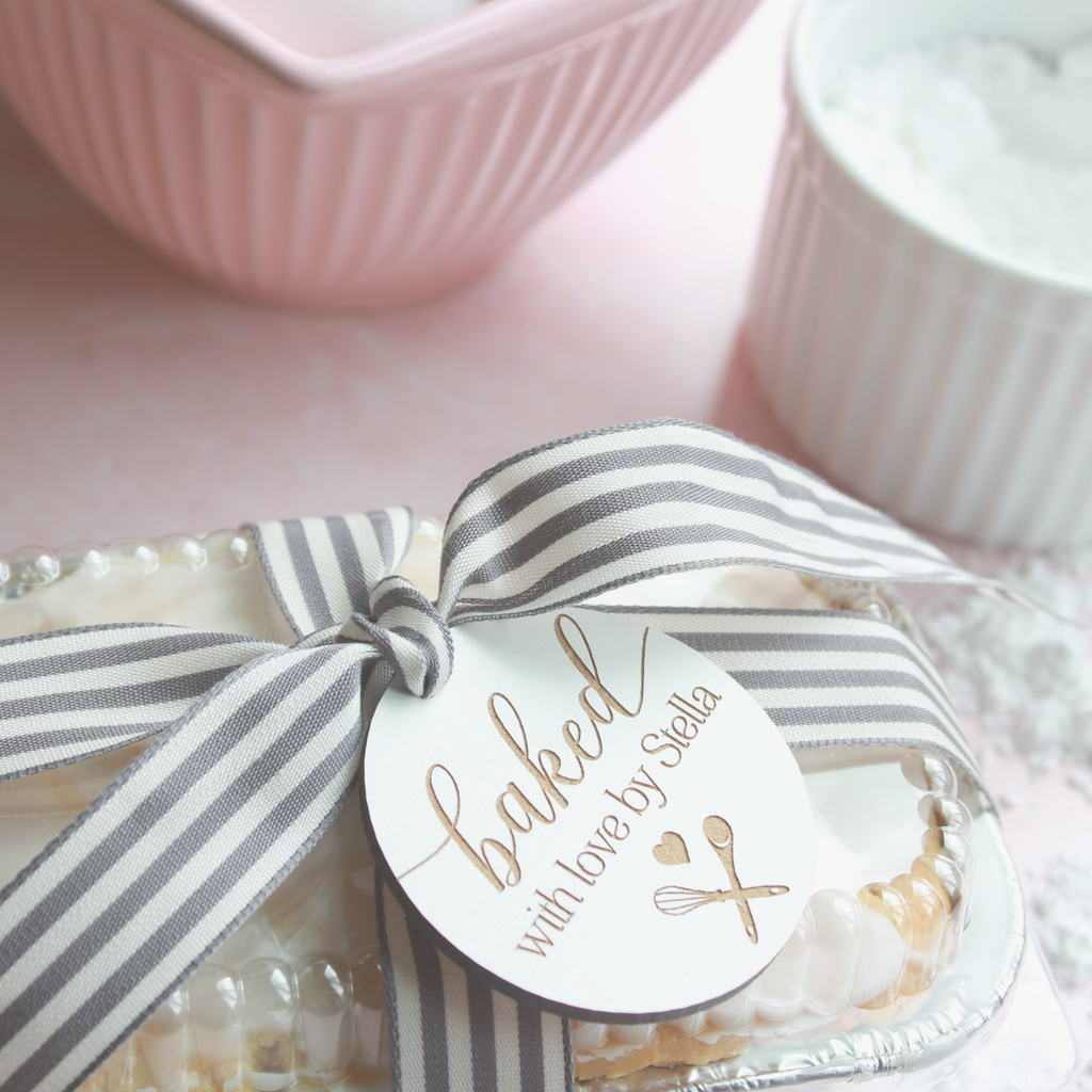 Baked With Love Gift Tag Set