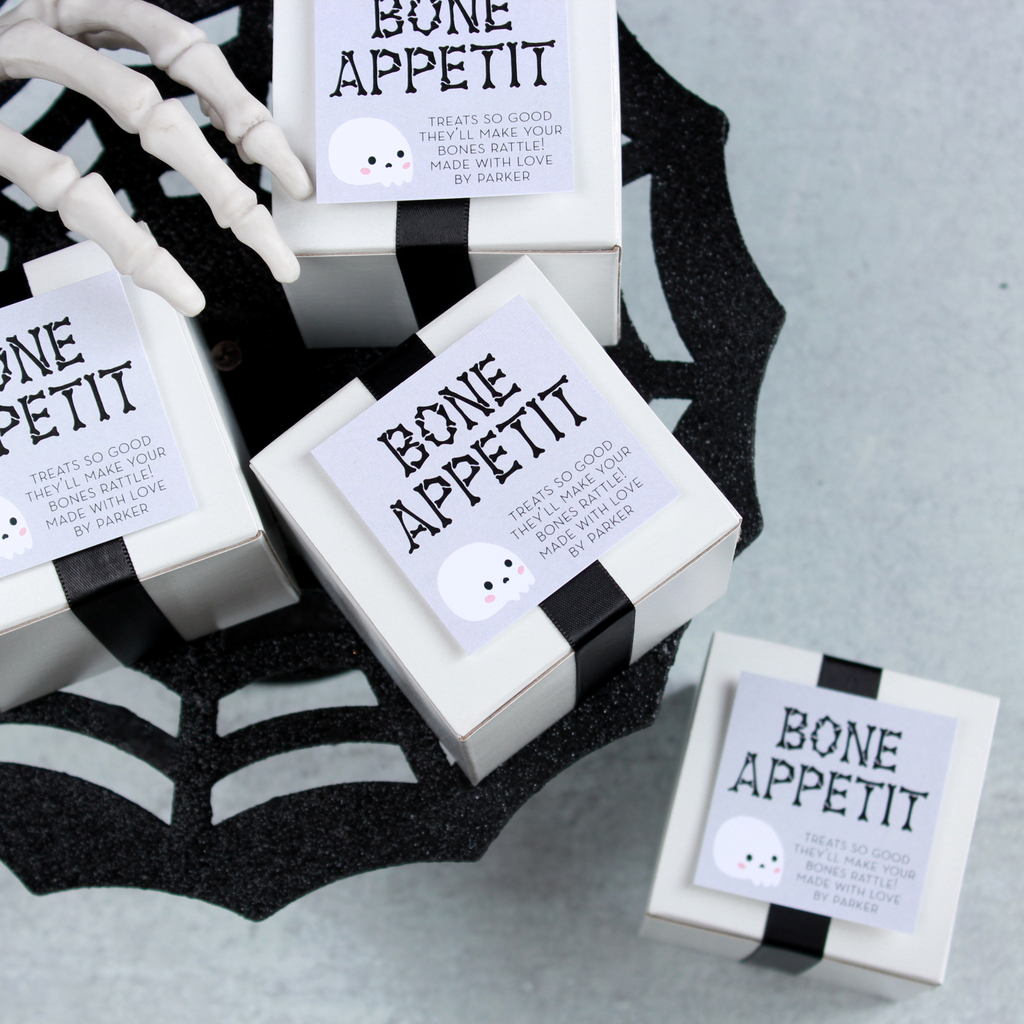 Bone Appetit - PRINTABLE Halloween Tags