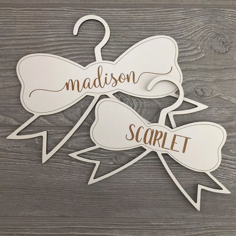 Personalized Bow Hanger