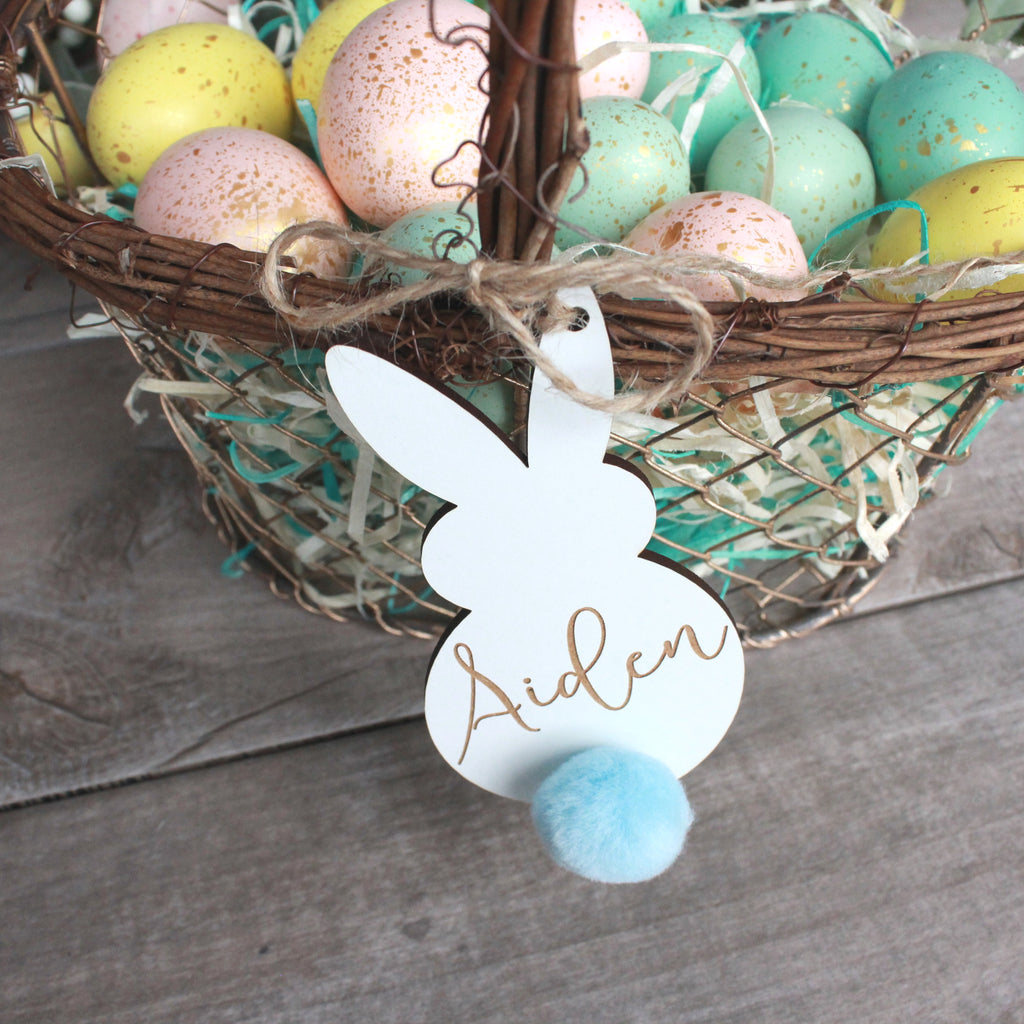 Shake Your Bunny Tail Basket Tags