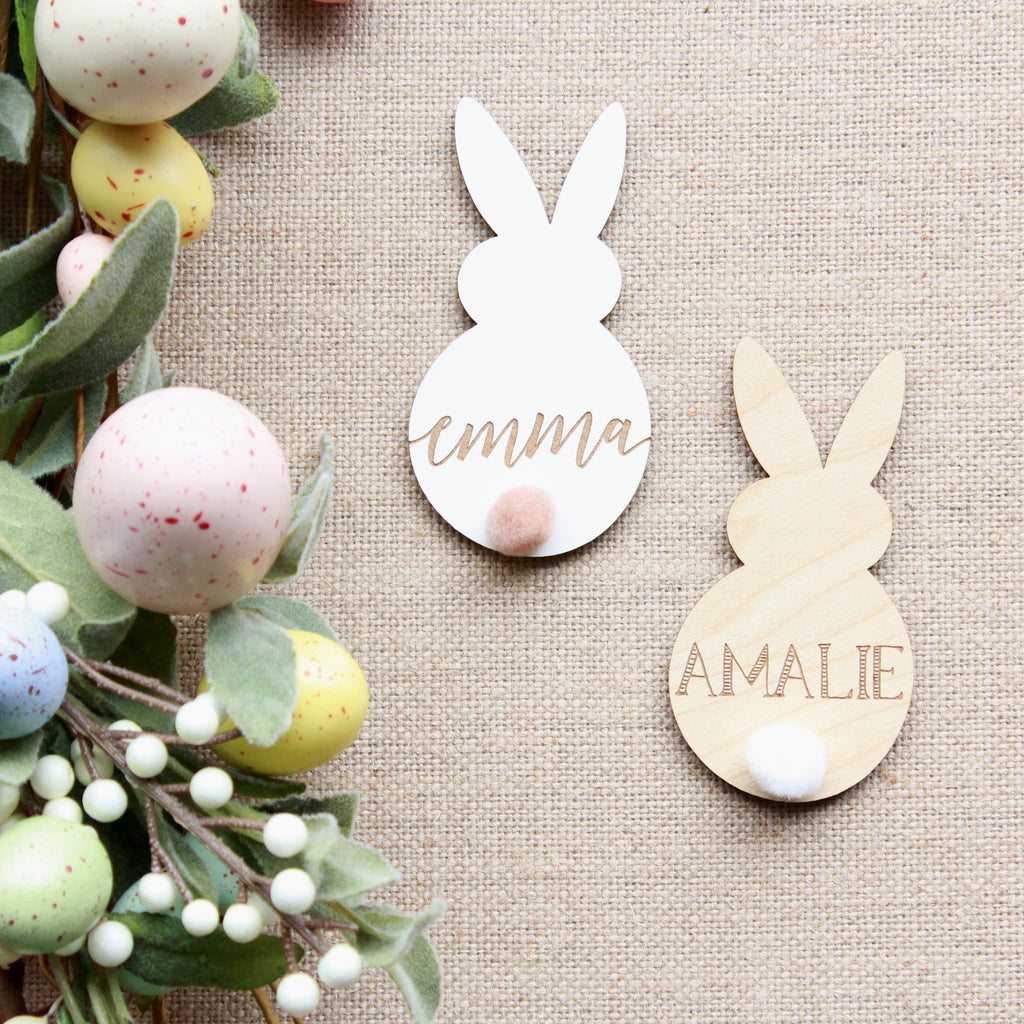 Shake Your Bunny Tail Place Cards