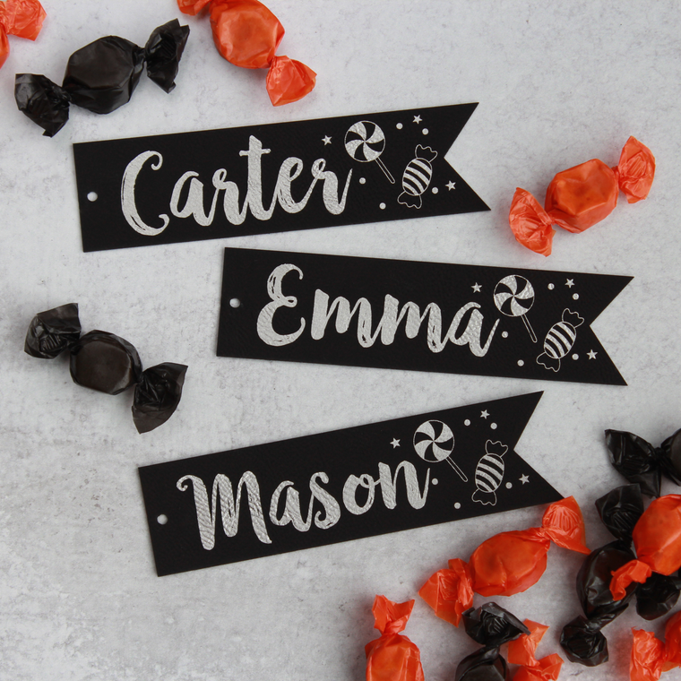 Candy Bag Tags - Pennant