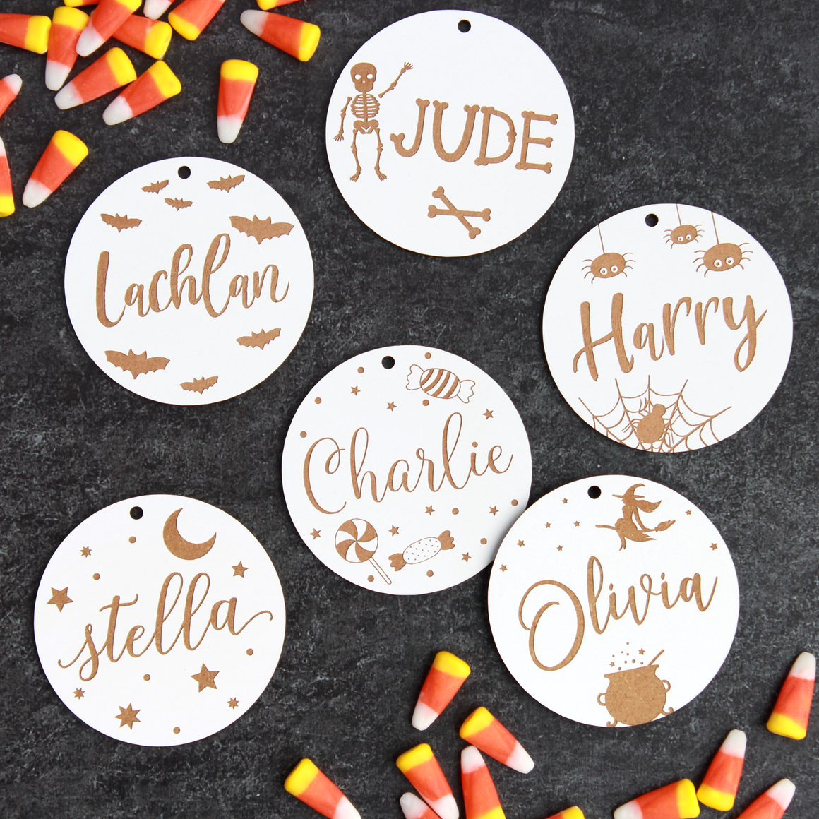Candy Bag Tags
