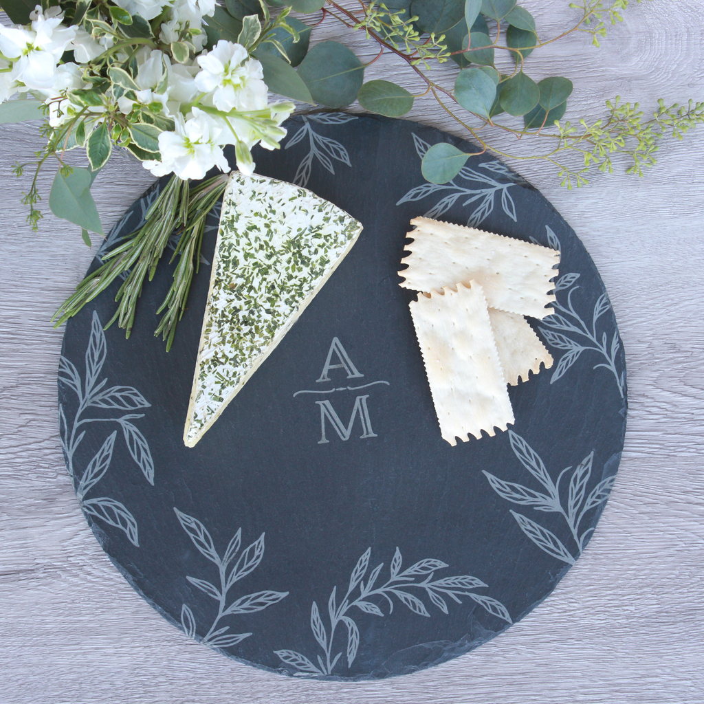 Slate Charger/Cheese Board Favor
