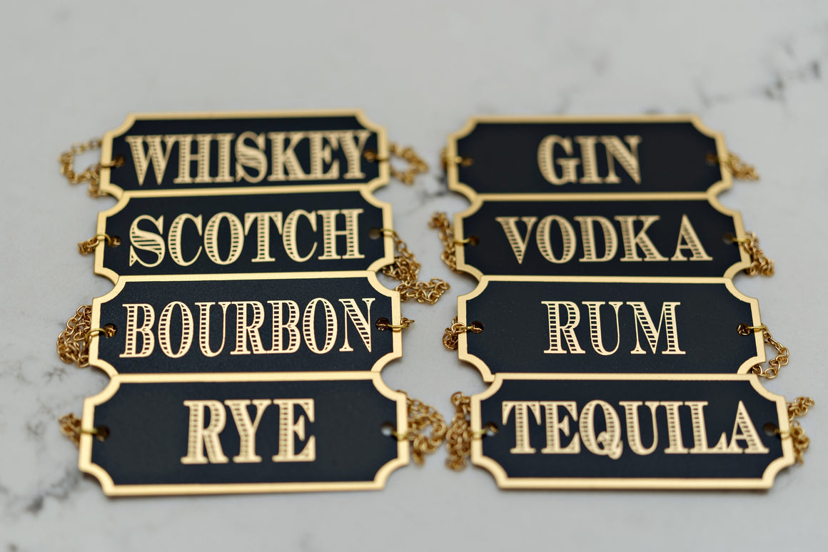 Decanter Tags