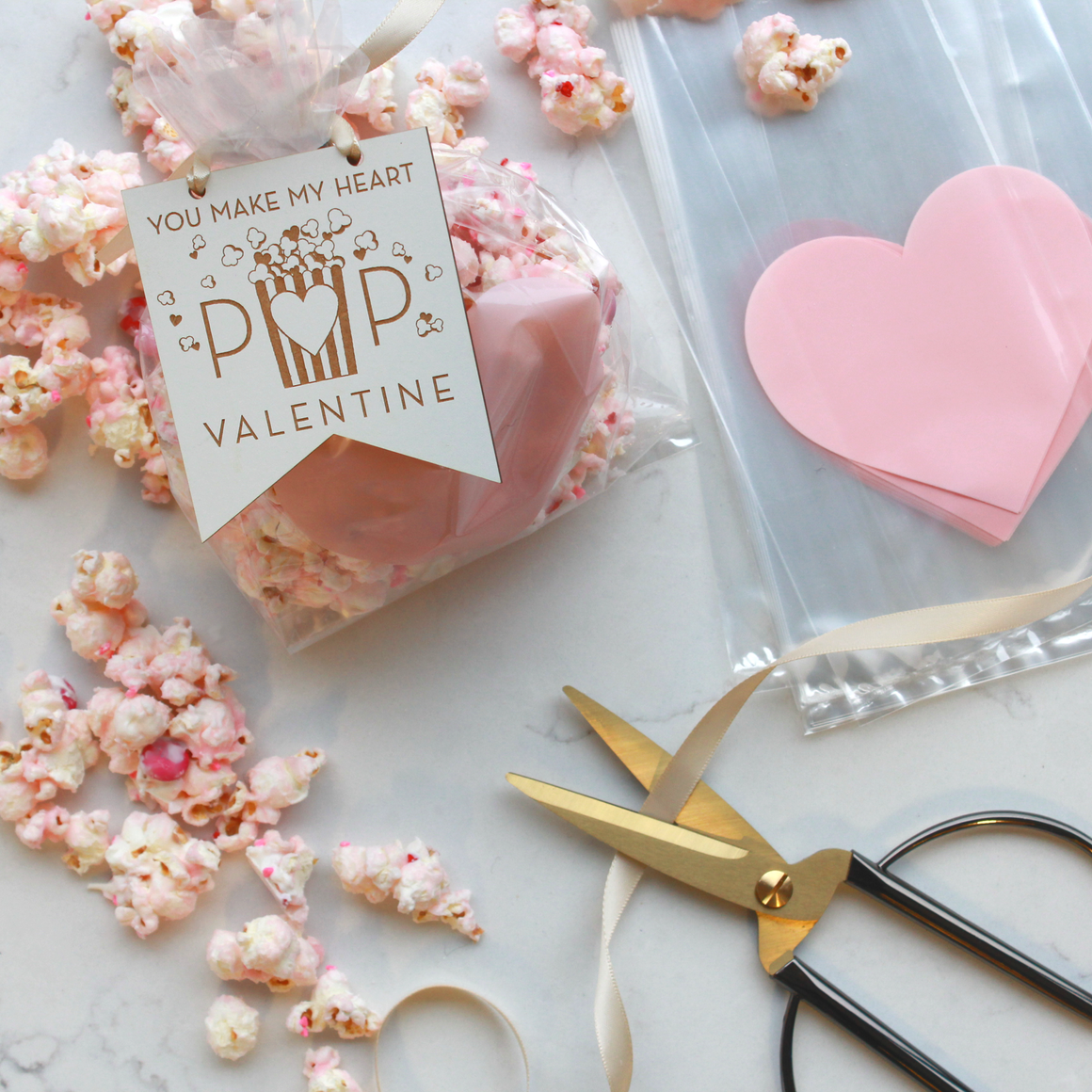 Heart Pop Gift Tags
