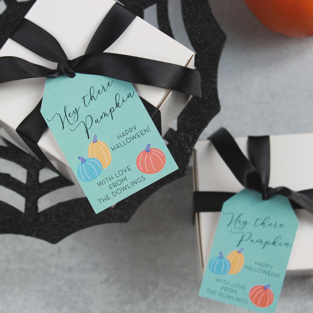 Hey there Pumpkin - PRINTABLE Halloween Tags