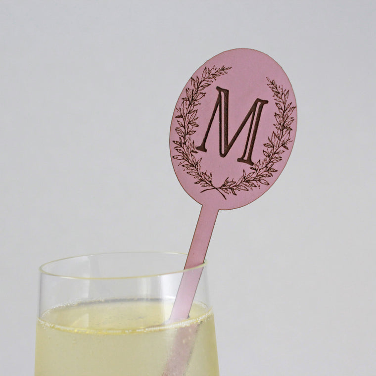 Laurel Drink Stirrers - Set of 6