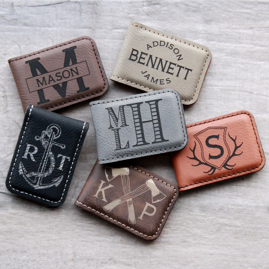 Monogram Money Clip