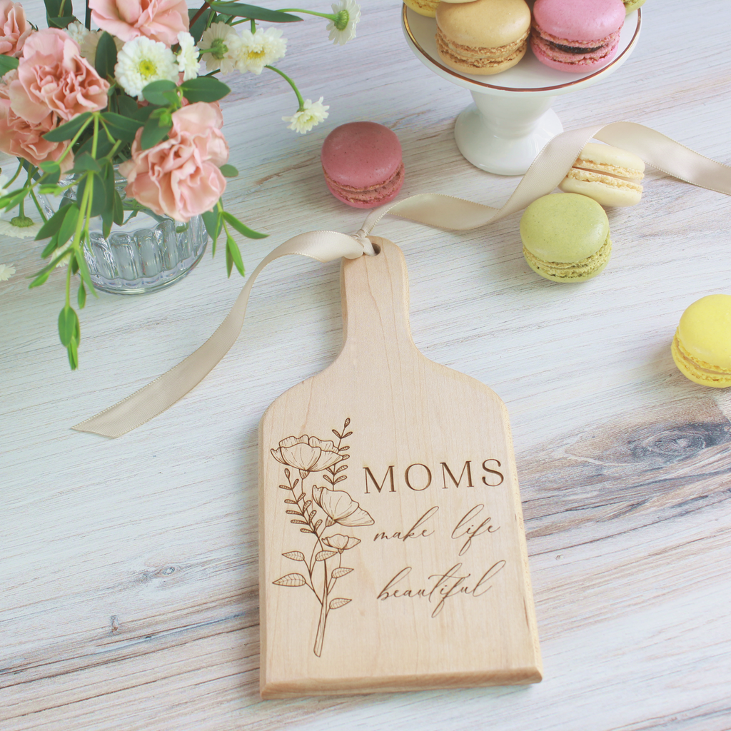 Mother's Day Special Edition Mini Artisan Cutting Boards