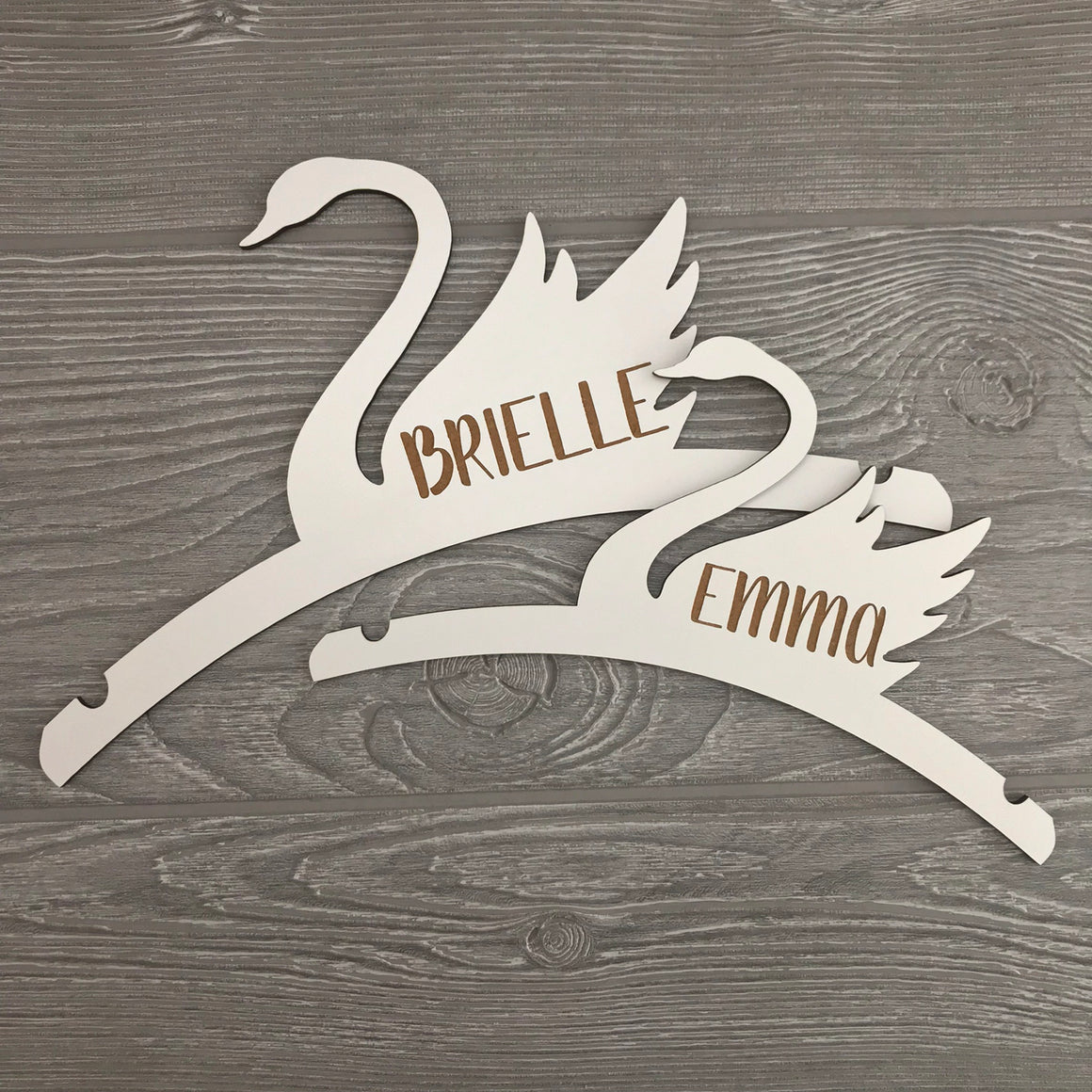Personalized Swan Hanger