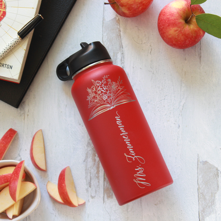 Teacher Gratitude - Personalized Water Bottle