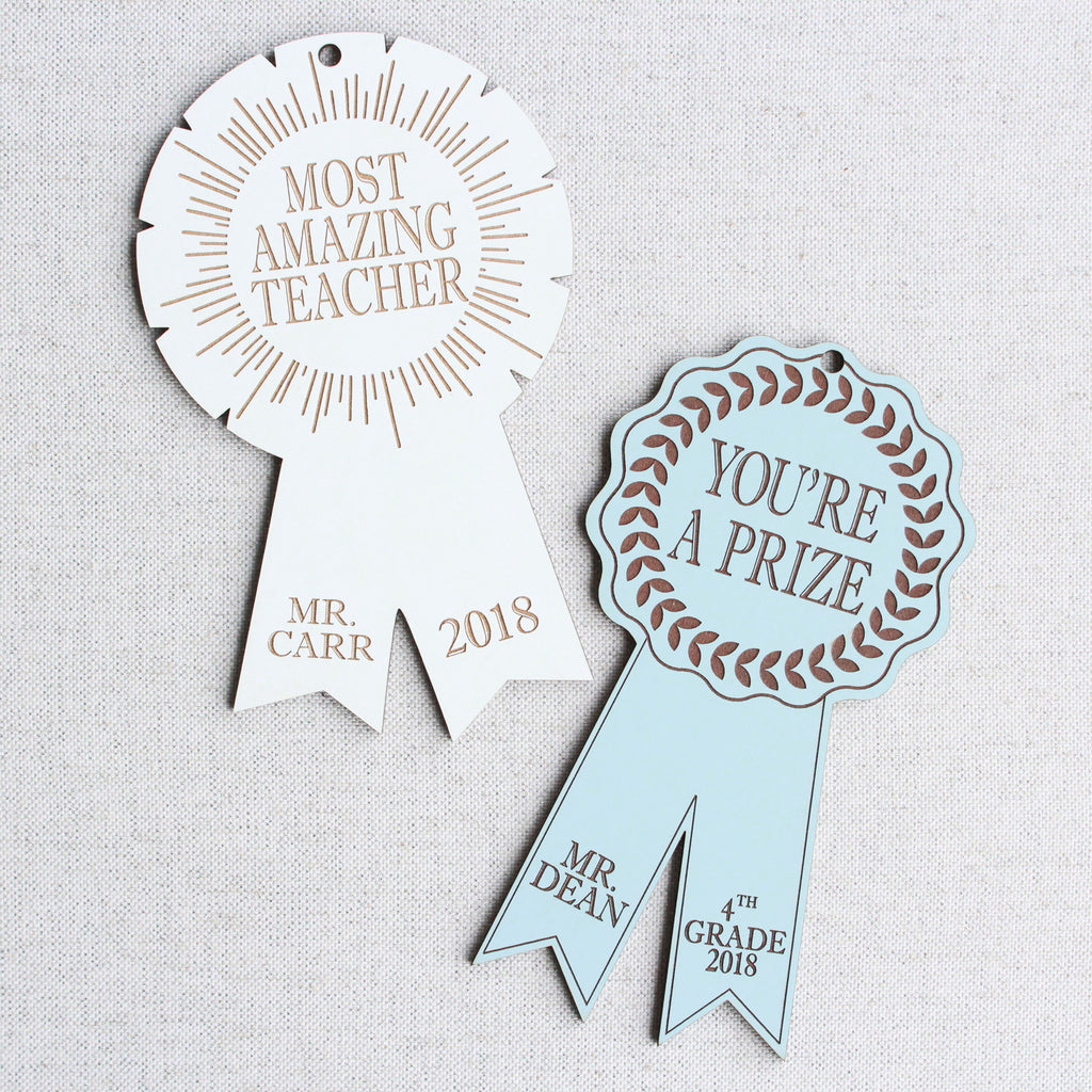 Teacher Prize Ribbons