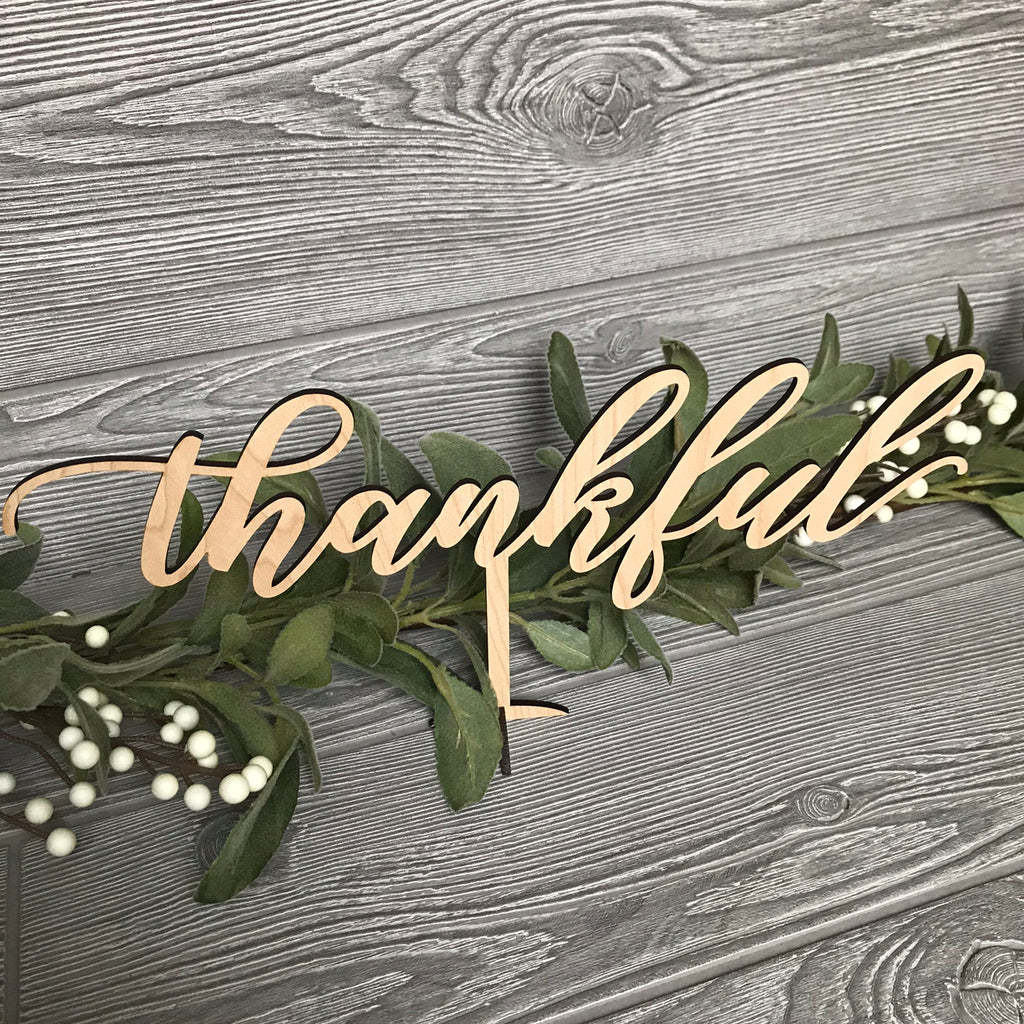 Thankful Table Sign