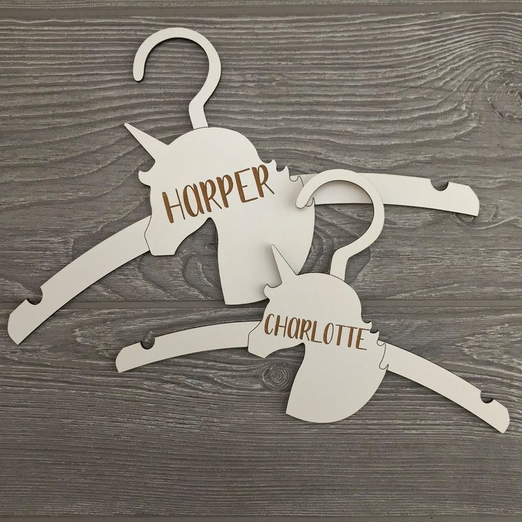 Personalized Unicorn Hanger