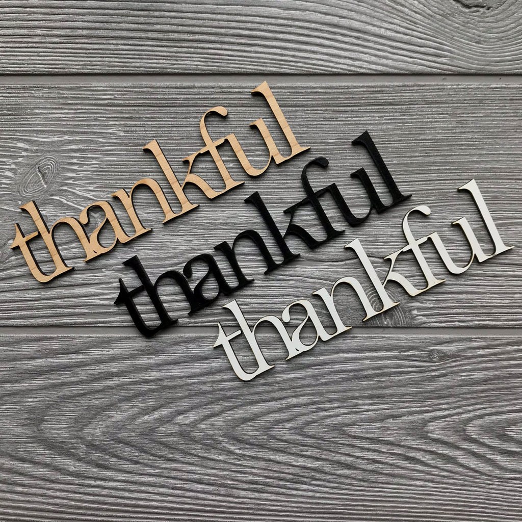 Thankful Napkin Tags