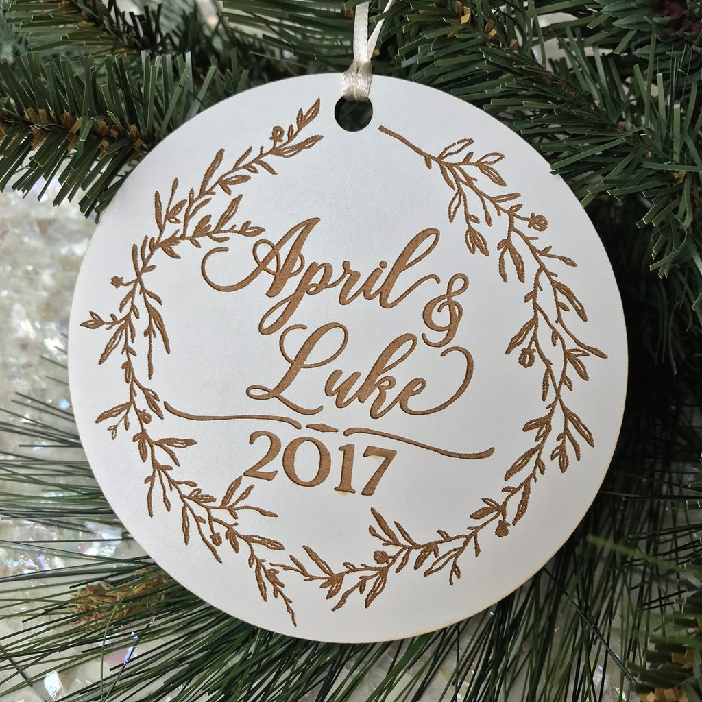 Wreath Collection Holiday Ornament