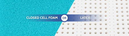 Closed Cell Foam or Latex Mattress?