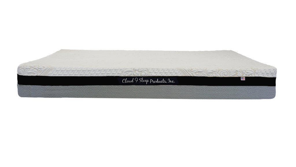 "Cloud 9, 8"" Altocumulus Closed Cell Foam Mattress, Swirl"