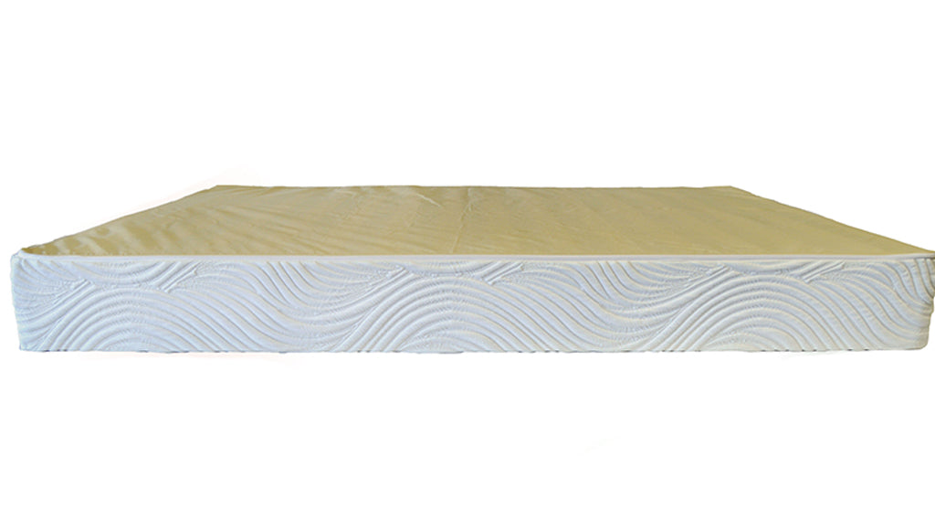 KD Wood Foundation, white fabric cover