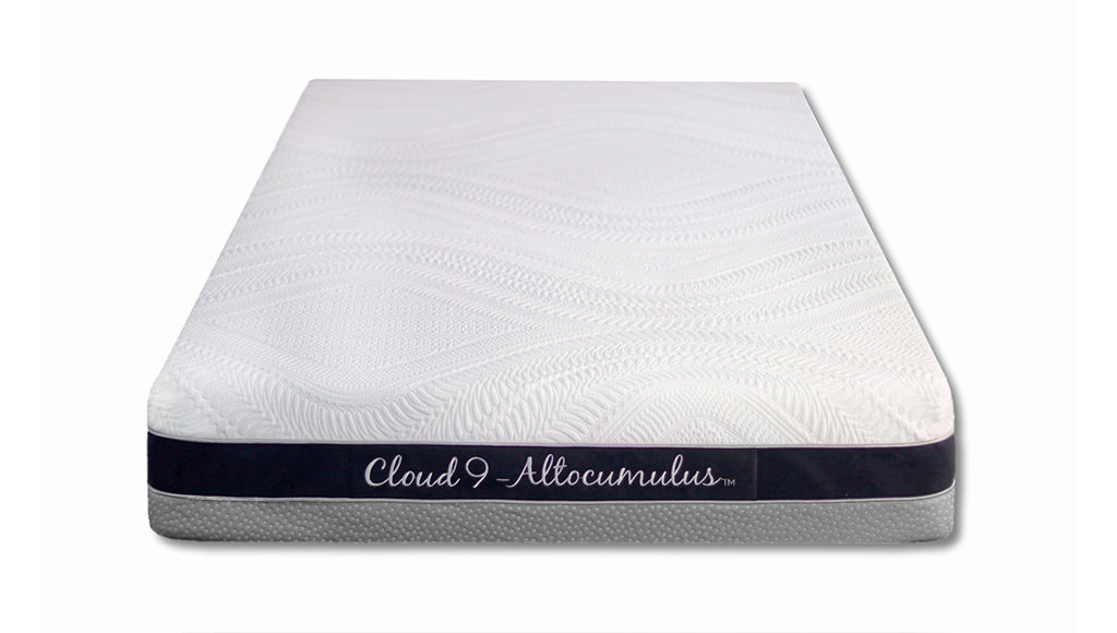 "Cloud 9, 8"" Altocumulus Twin Mattress Plush"