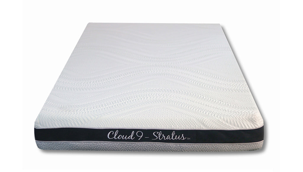 "Cloud 9, 6"" Stratus Twin-XL Mattress, plush"