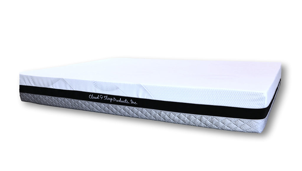 "Cloud 9, 8"" Altocumulus Twin-XL Mattress, swirl"