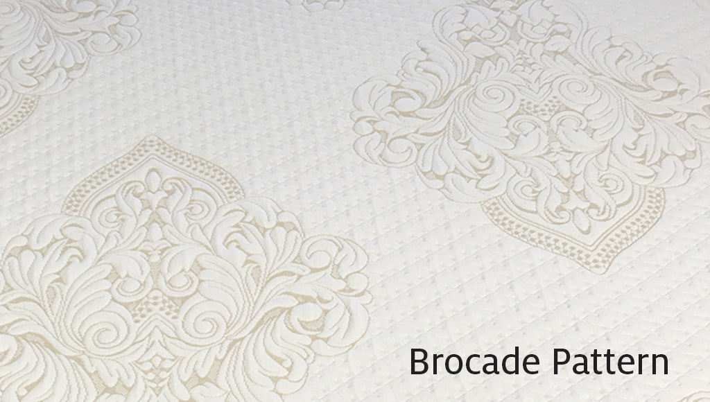 Brocade - traditional pattern fabric with heat dissipation.