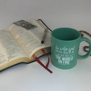 Set the World on Fire Mug