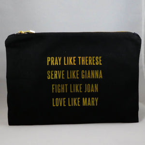 """Love Like Mary"" Cosmetic Bag"