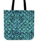 Mermaid Linen Tote Bag - 24 Style