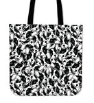 French Bulldog Linen Tote Bag