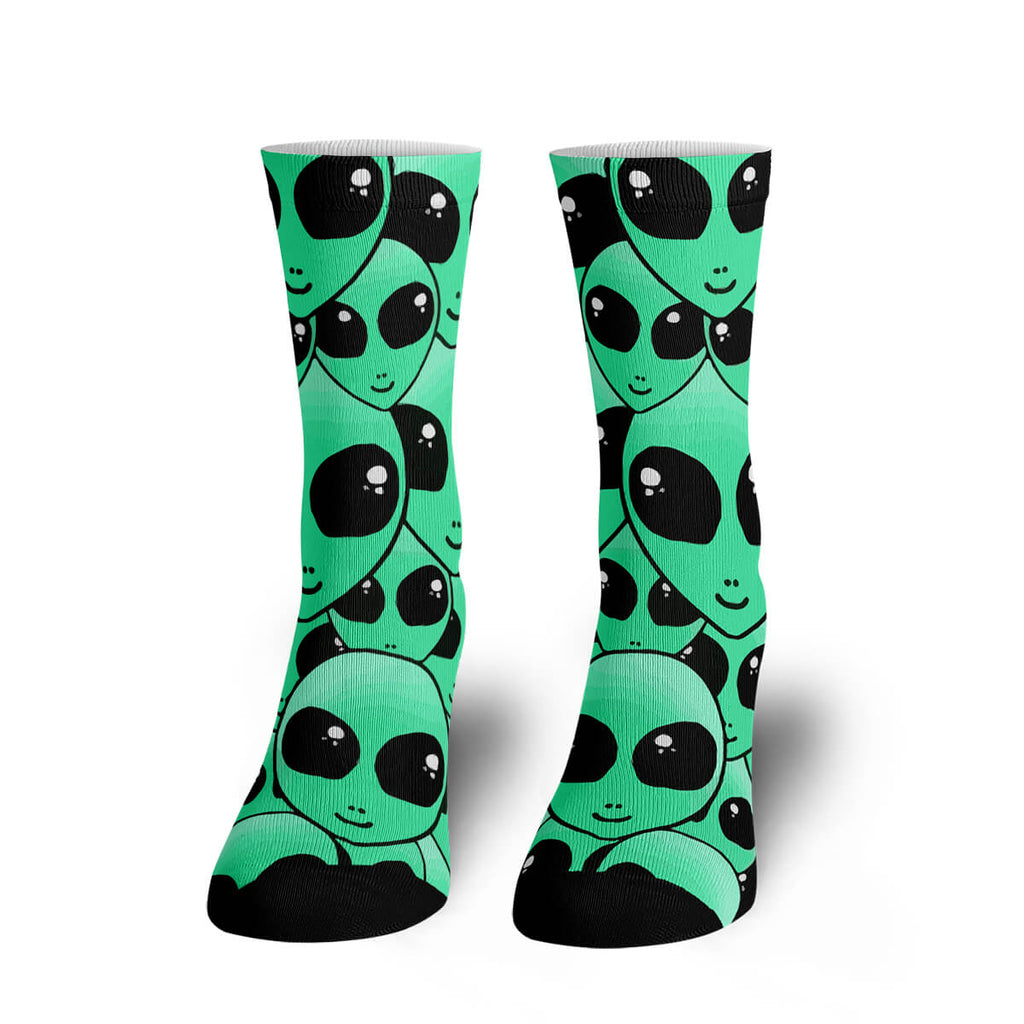 Greetings Earthlings Socks