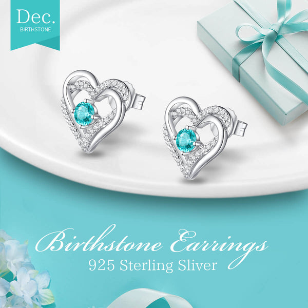 For Always & Forever Birthcrystal Earrings