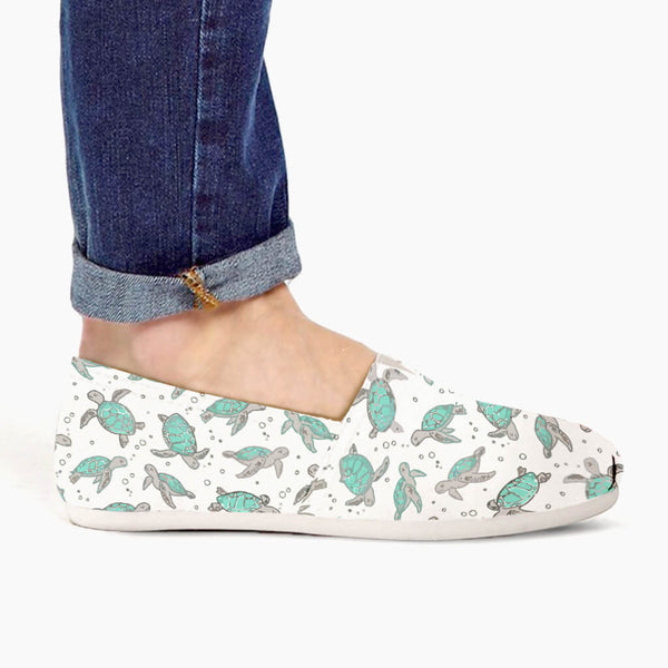 Sea Turtles Casual Slip-Ons