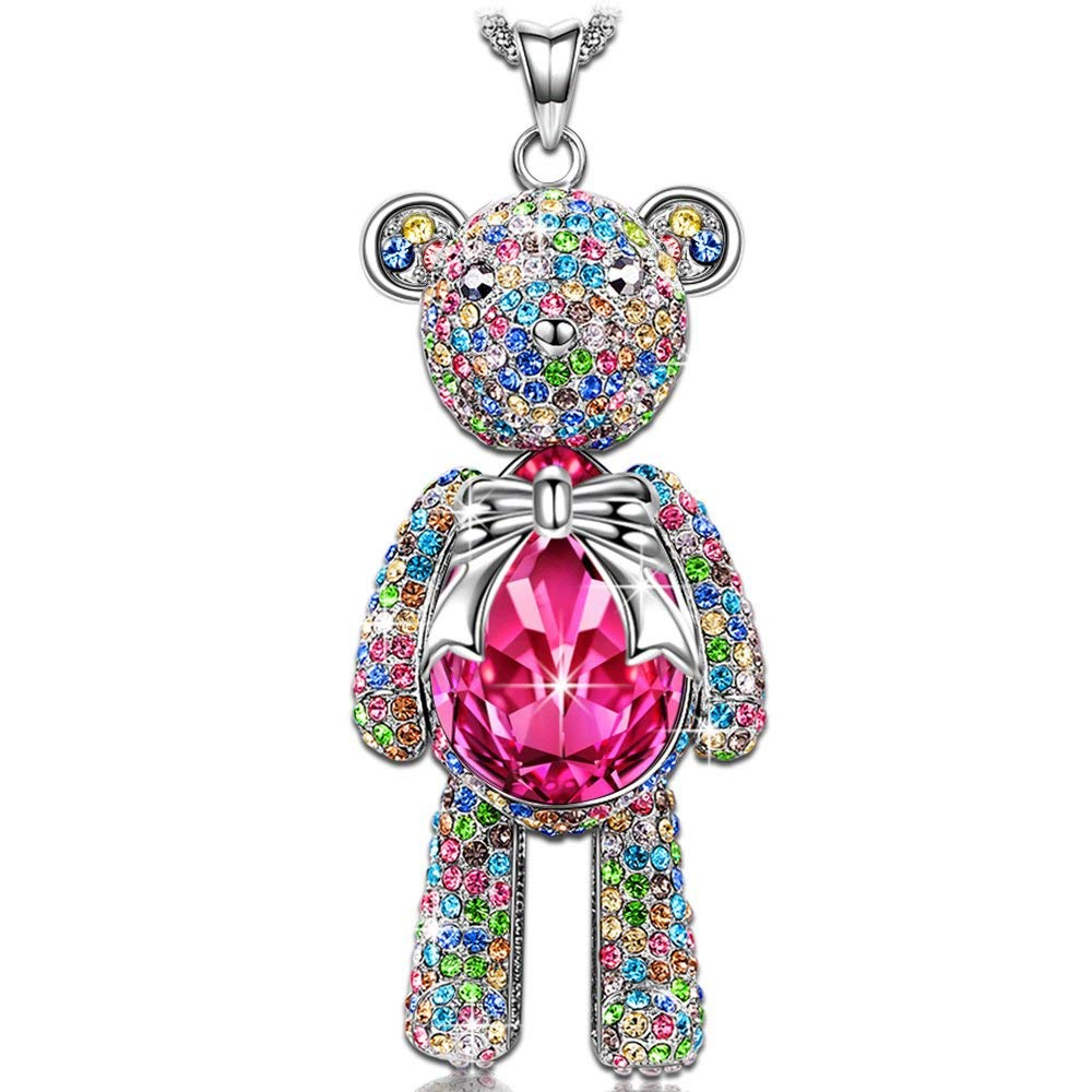 Teddy Bear Necklace - 24 Style