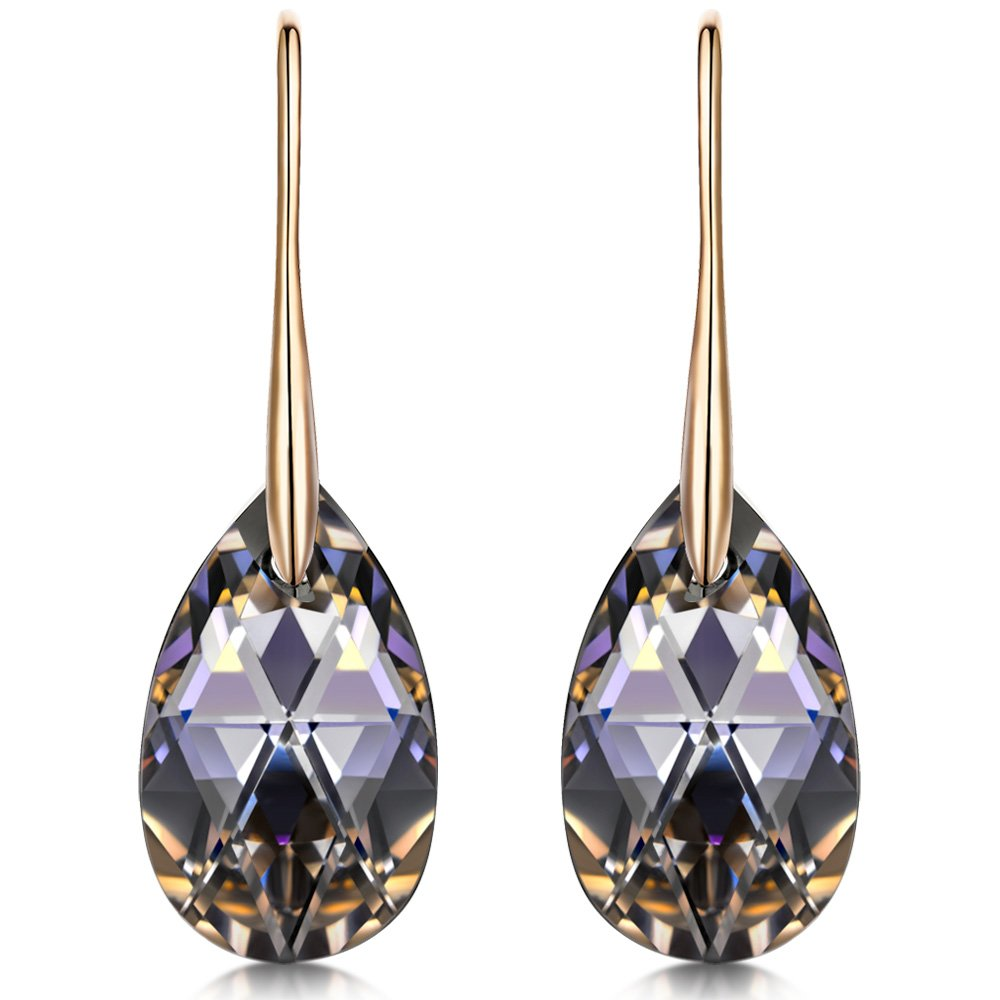Black Aurora Drop Earrings - 24 Style