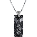 Black Crystalline Necklace