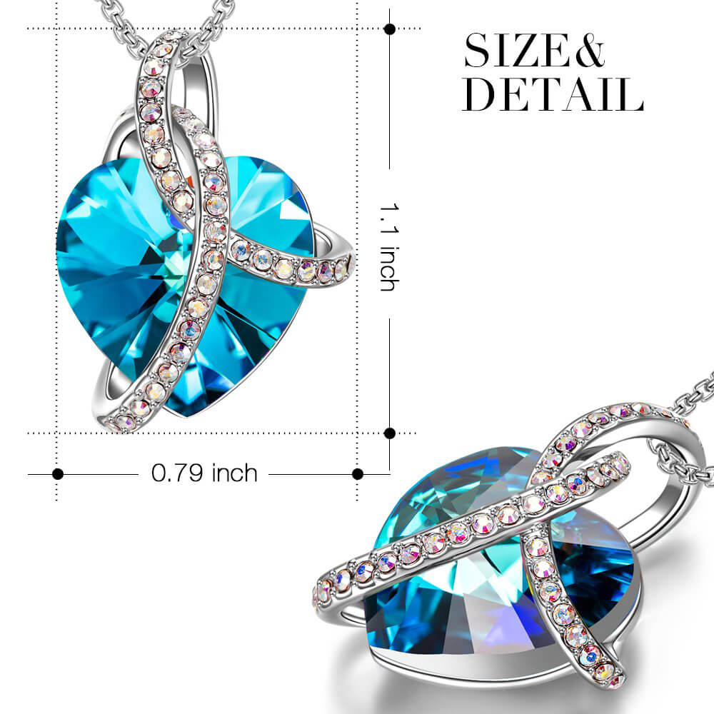 Blue Infinity Love Necklace - 24 Style