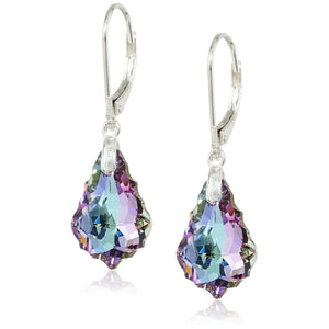 Vitrail Light Crystal Earrings - 24 Style
