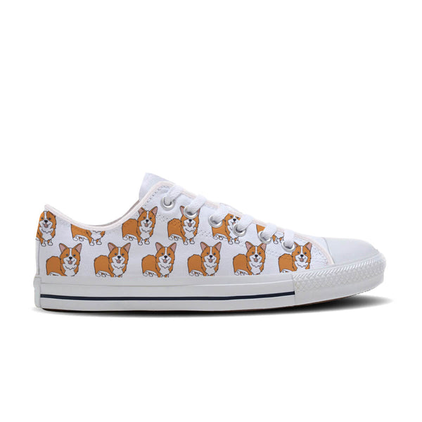 Corgi Casual Low Tops
