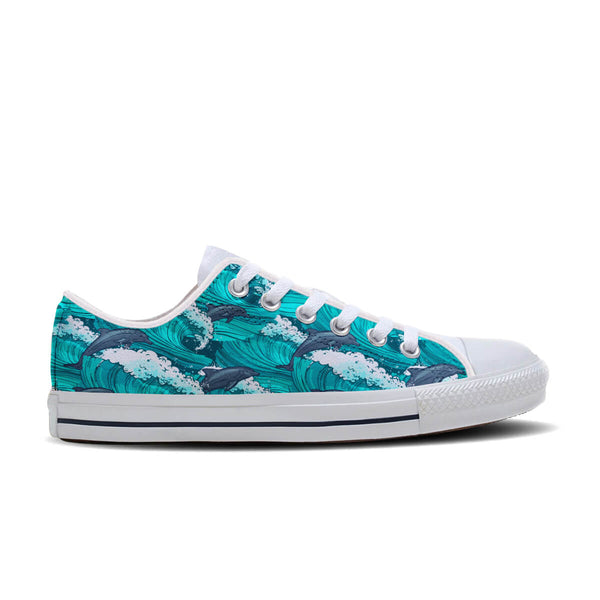 Surfing Dolphin Shoes