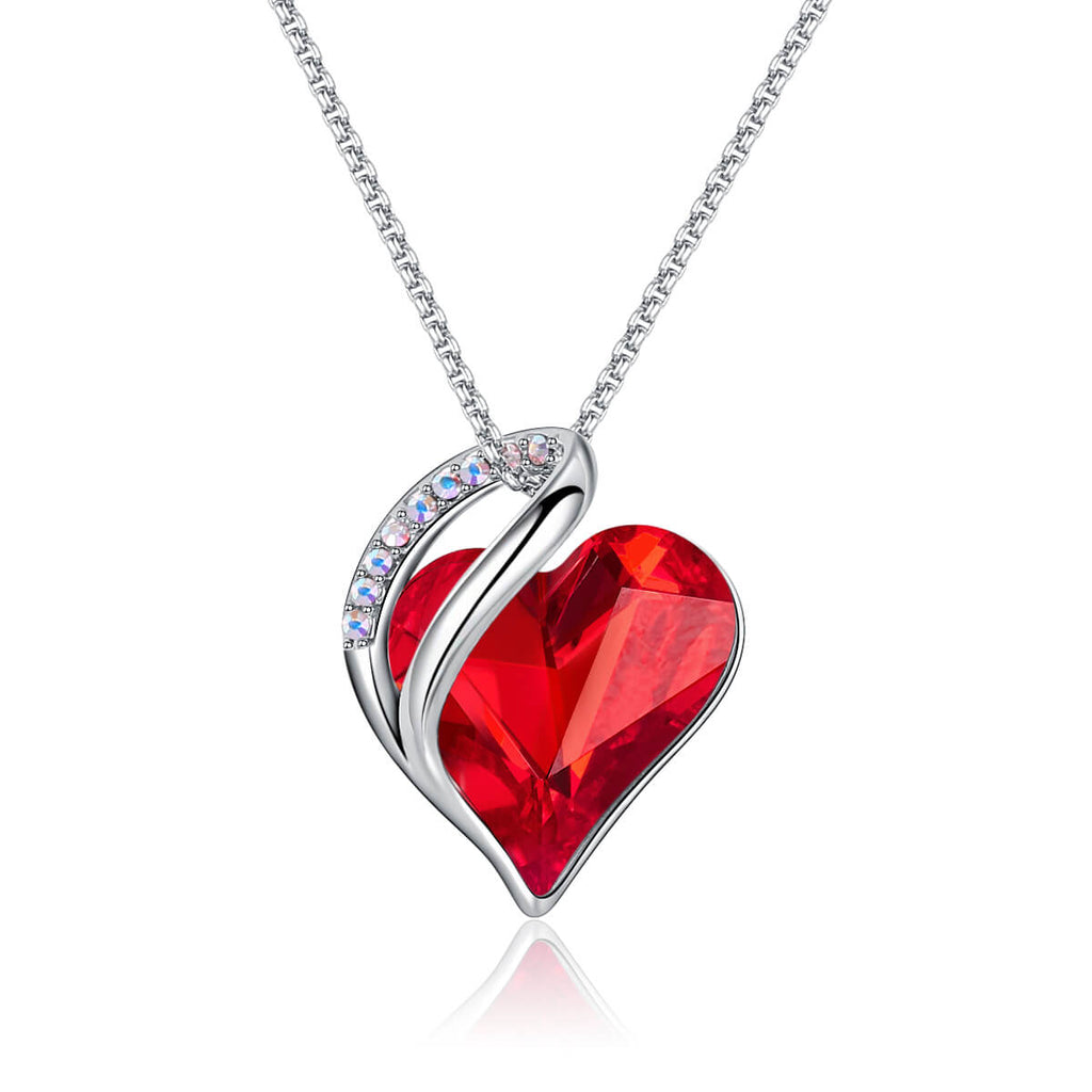 Infinite Love Birthcrystal Necklace