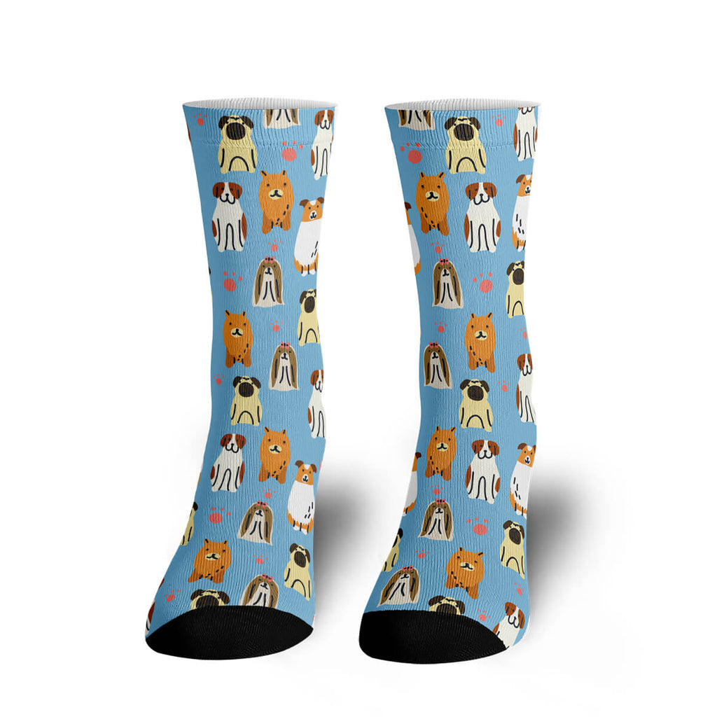 Lots of Puppies Socks