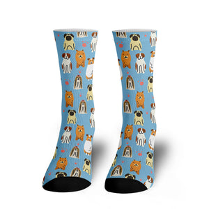 Lots of Puppies Socks - 24 Style