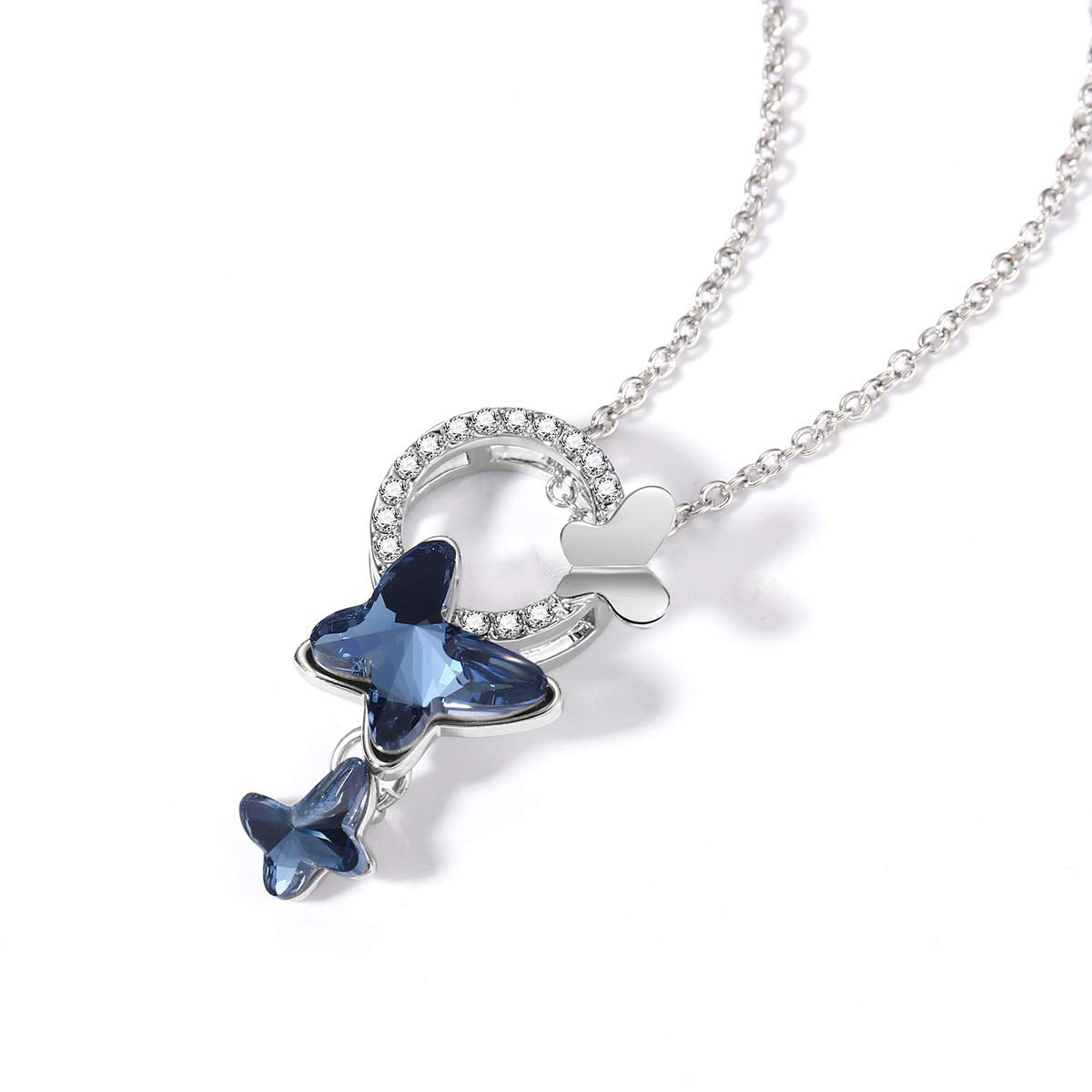 Butterfly Crystal Necklace - 24 Style