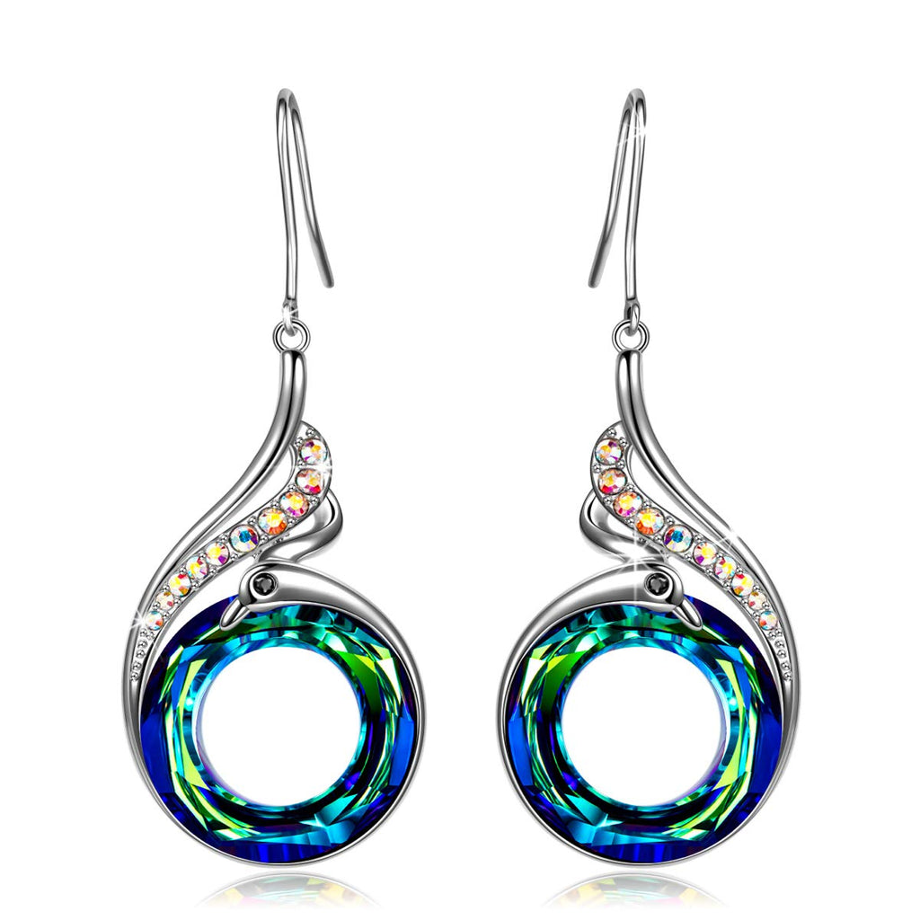 Rise of the Phoenix Blue Earrings - 24 Style
