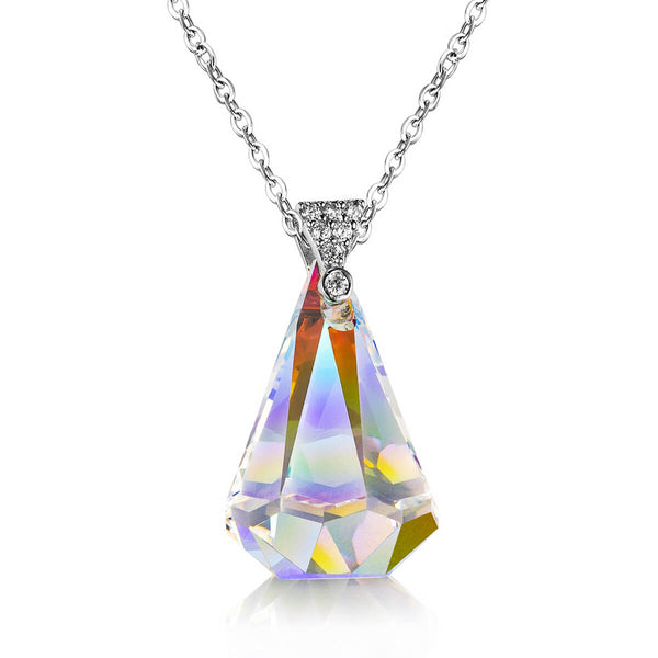 Northern Lights Teardrop Necklace - 24 Style